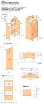 woodworking plans potato bin