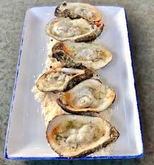 Star Fish Wood Grilled Oysters with ...