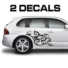 Tribal Scroll Design Car Door Decal Sticker Door Decals Car Scroll Design