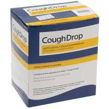 honey lemon flavor cough drop liquid