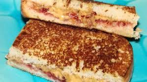 fried peanut er and jelly sandwich