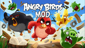 Angry Birds Version 7.7.0 - MOD APK, UNLIMITED POWER-UPS - YouTube