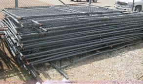 Approximately 24 Portable Chain Link Fence Panels In Wichita Ks Item G9897 Sold Purple Wave
