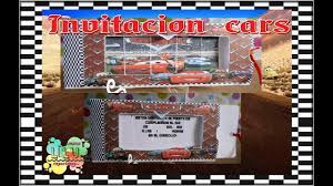 Invitacion Cars By Kimtj2012