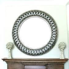 round wall mirror set black mirror set