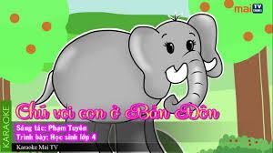Chú voi con ở Bản Đôn - YouTube