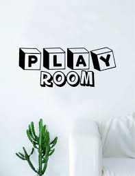 Play Room Decal Sticker Wall Vinyl Art Home Decor Teen Quote Inspirati Boop Decals