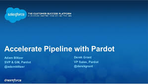 Accelerate Pipeline with Pardot
