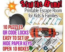 Escape Room For Kids Etsy