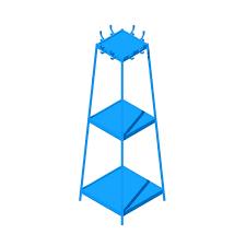 coat racks dimensions drawings