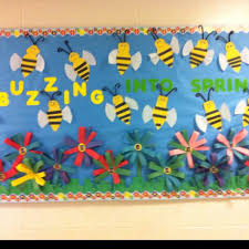 spring bulletin board 11 crafts and