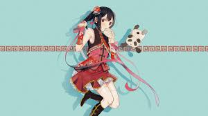 kawaii anime uhd 4k wallpaper pixelz