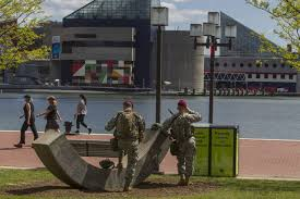 riot rattled baltimore braces for