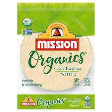 mission organics white corn tortillas