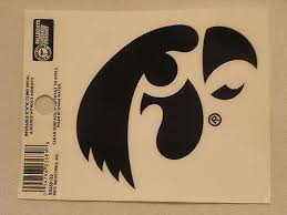 Iowa Hawkeyes Static Cling Sticker New Window Or Car Ncaa Hub City Sports