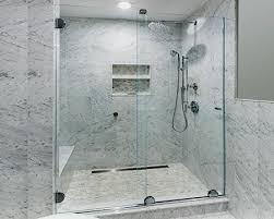 frameless glass sliding shower door systems