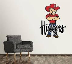 Ncaa Nebraska Huskers Large Wall Accent College Mural Sticker For Sale Online Ebay