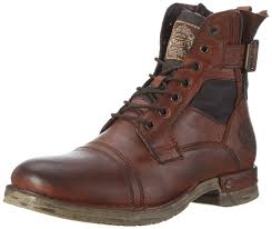 bugatti f94544 men s biker boots shoes