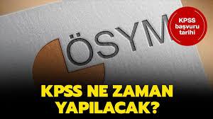 KPSS 2020 başvuruları hangi tarihte? ÖSYM KPSS sınav başvuru ...