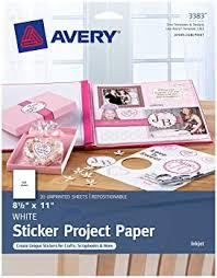 Explore Sticker Paper For Cricut Amazon Com