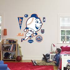 Fathead New York Mets Throwback Logo Wall Decal
