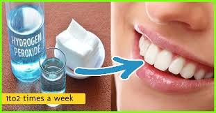 hydrogen peroxide for teeth whitening