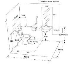 handicap bathroom size restroom
