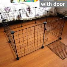 8 Panels Foldable Pet Playpen Cages Crates Iron Fence With Door Puppy Kennel House Exercise Training For Kitten Dogs Rabbits Cage Lazada Ph
