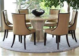6 seat round dining table dining tables