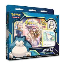 Pokémon TCG: Snorlax Pin Collection | Pokémon Center Official Site