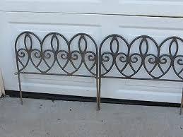 cast iron garden stakes