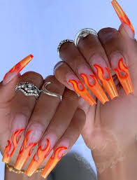 coffin nails design ideas for fall
