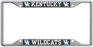 University Of Kentucky Carbon License Plate Frame Zokee