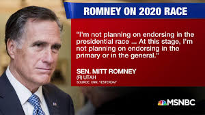 Mitt Romney says he doesn't plan to ...