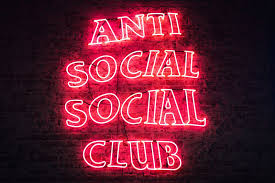 social club wallpapers neon sign