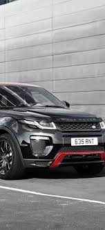 land rover range rover black suv car