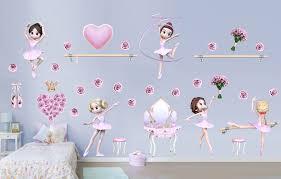 Harriet Bee Princess Fairies Ballerinas Giant Classic Dancer Wall Decal Wayfair