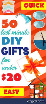 last minute diy gifts to make for under 20