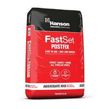 Hanson Fast Set Post Fix Concrete 20kg Bag