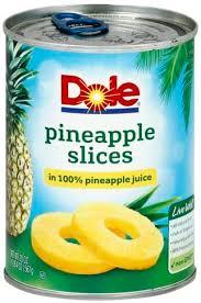 pineapple juice pineapple slices