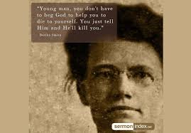 Bertha Smith Quote 2 - Sermon Index