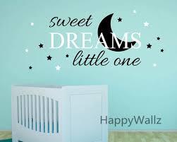 Sweet Dreams Little One Baby Nursery Quotes Wall Sticker Diy Decorative Sweet Dreams Children Quote Vinyl Wall Decals Q156 Vinyl Wall Decals Wall Decalswall Sticker Aliexpress