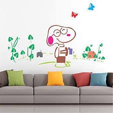 stickme snoopy dog wall sticker