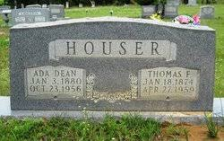 Rosa Ada Dean Houser (1880-1956) - Find A Grave Memorial