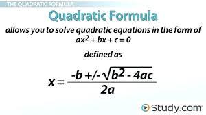 quadratic simultaneous equations