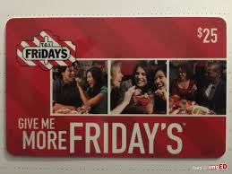 t g i friday s 25 gift card image on