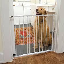 Cardinal Gates Side Top Extendable Metal Pet Gate Dog Dog Doors Gates Petsmart