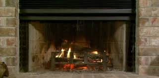 heating efficiency of a fireplace