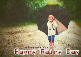 cute and happy rainy day images