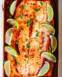 Baked Thai Salmon - Craving Home Cooked